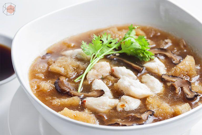 กระเพาะปลา อาหารแก้หนาว