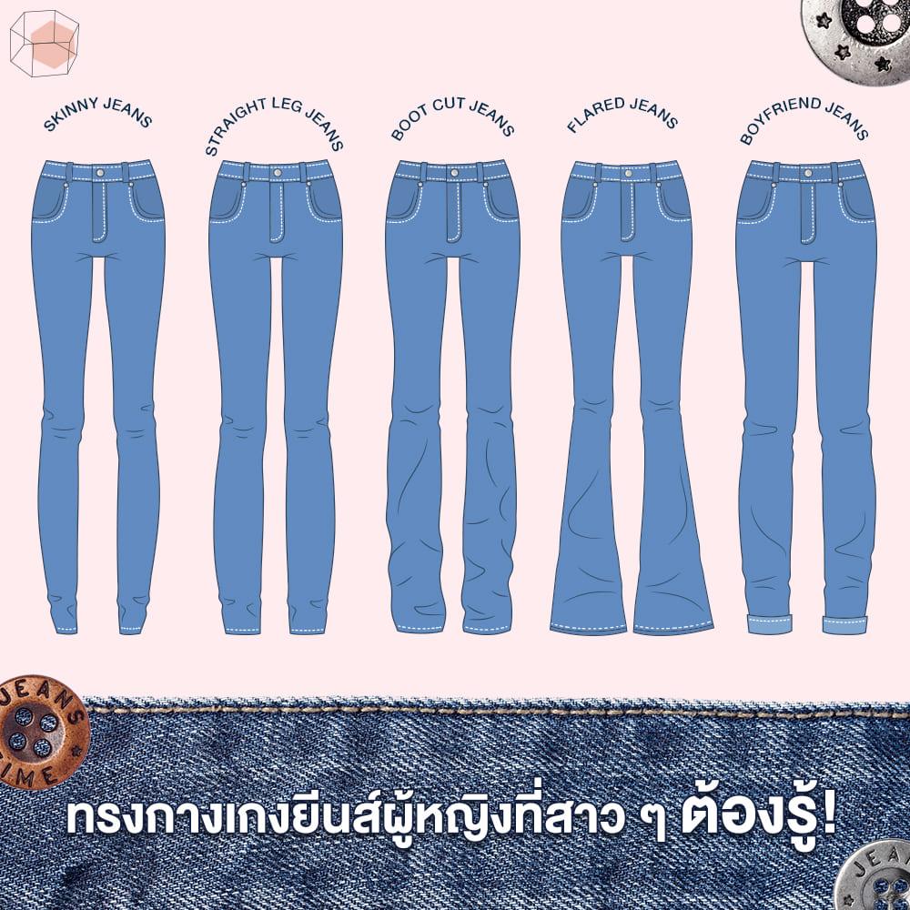 กางเกงยีนส์ผู้หญิง
