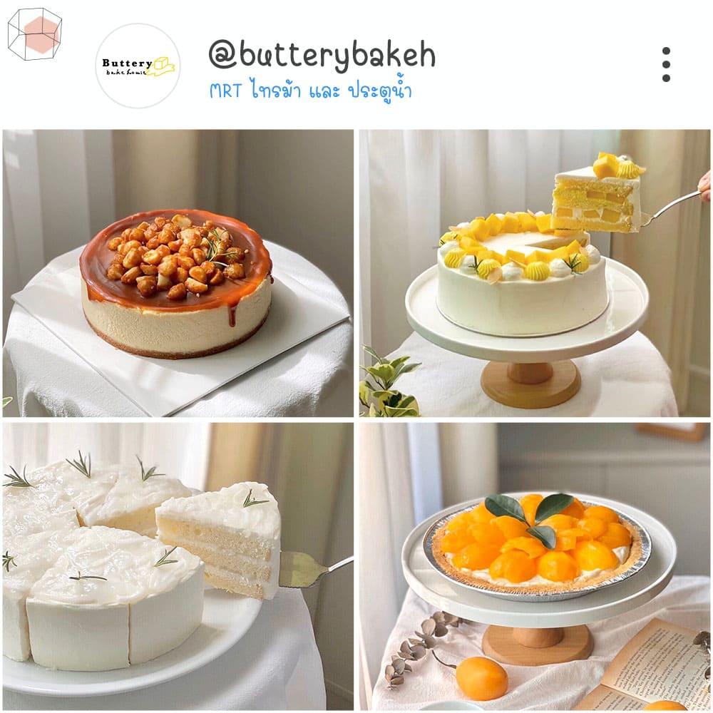 ร้านเค้กวันเกิด Instagram เค้ก เค้กเนยสด เค้กผลไม้