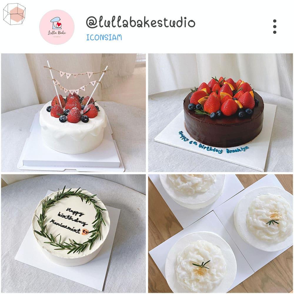 ร้านเค้กวันเกิด Instagram เค้กมินิมอล minimal เค้ก