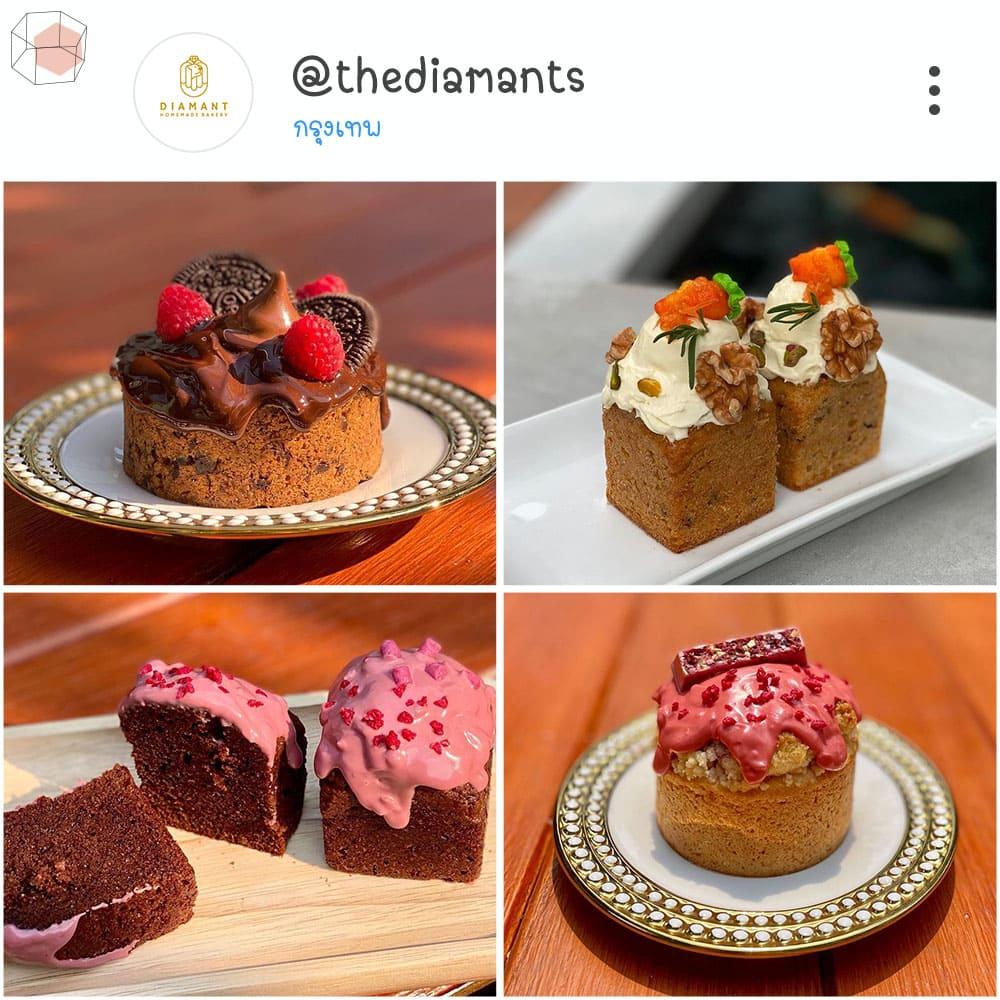 ร้านเค้กวันเกิด Instagram เค้กน่ารัก