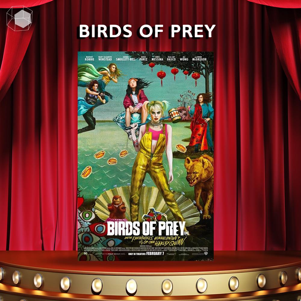 หนังfeminist หนัง ภาพยนตร์ ผู้หญิง ผู้หญิง birdsofprey Harley Quinn